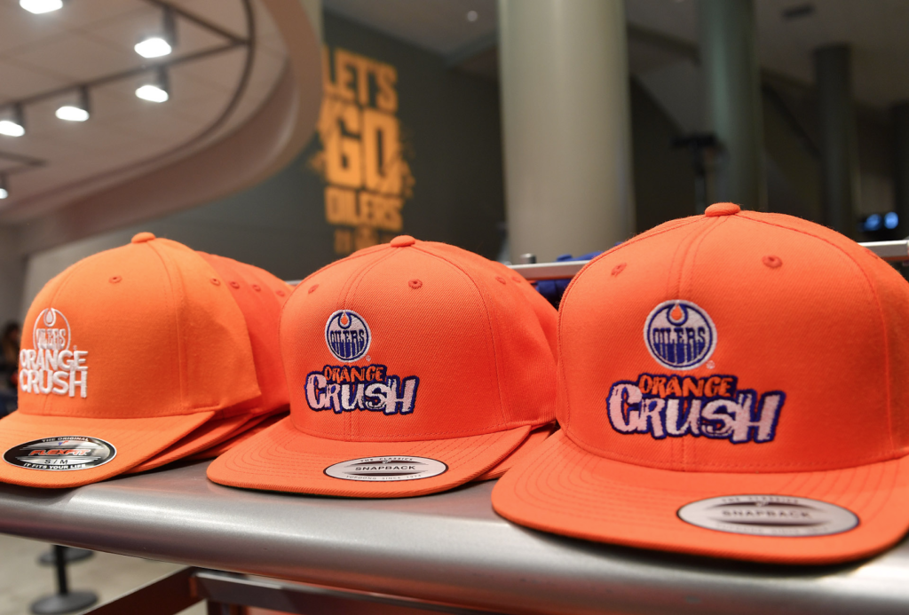 Orange Crush Fan Gear Edmonton Nomiya